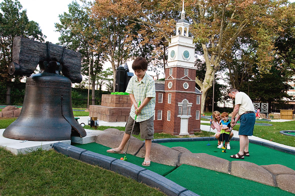 Franklin Square Mini Golf