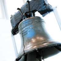 The Liberty Bell in Historic Philadelphia